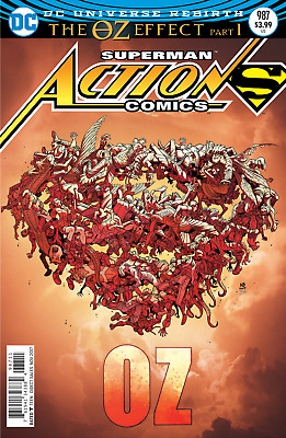 DC Superman Action Comics #987 the Oz Effect Lenticular Cover Bagged & Boarded