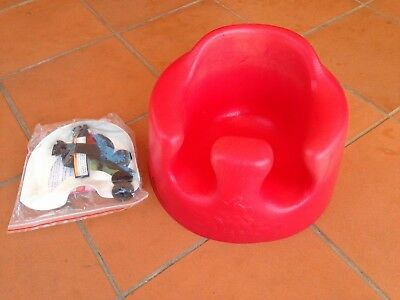 Used Bumbo Baby Seat With New Restraint Belt