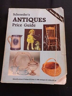 Schroeder`s Antiques Price Guide 2Nd Edition  Cc 1984