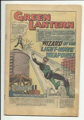 Wanted #5 - Green Lantern - Dollman - coverless copy - ungraded