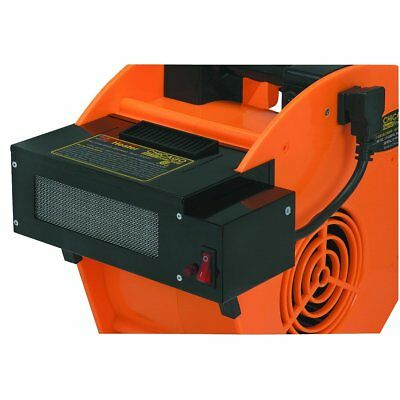 Industrial Air Mover Blower Heater Attachment – 1320 Watts / 120V / 5000 Btu
