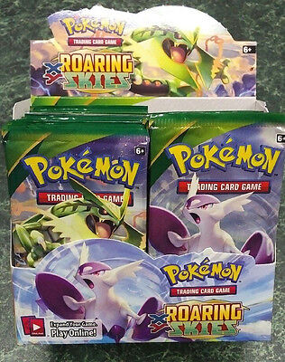Pokemon XY Roaring Skies Booster Pack from Canada