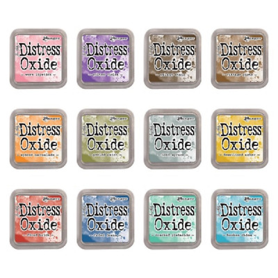 Tim Holtz Distress Oxide Ink Pads - Release 1 - 12 colours