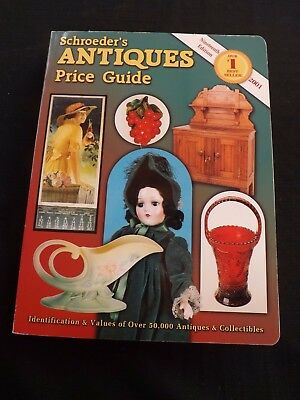 schroeder`s antiques price guide 19th edition cc 2001