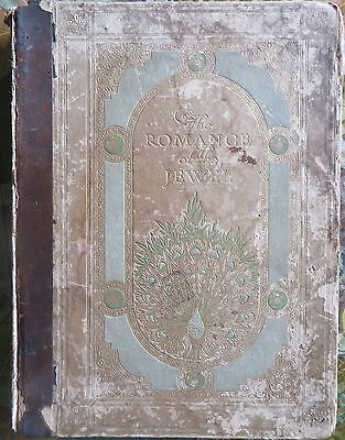 Rare Private Book The Romance of the Jewels Hudson & kearns by STOPFORD francis