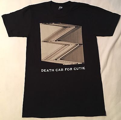 DEATH CAB FOR CUTIE Small Tour Shirt / Black / 2015 North American Tour