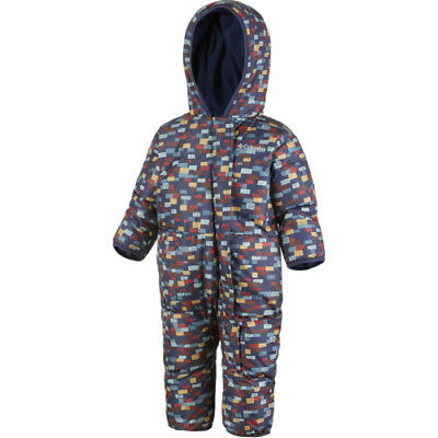 Columbia Snuggly Bunny Bunting Toddler Kids Jacket Snowsuit - Collegiate Navy