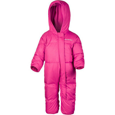 Columbia Snuggly Bunny Bunting Toddler Kids Jacket Snowsuit - Punch Pink