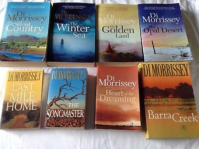 5 DI MORRISSEY BOOKS Bulk Lot!