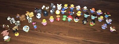 HUGE LOT (44) Little People PRINCESS Zoo Super Hero  Fisher Price Toy Figure