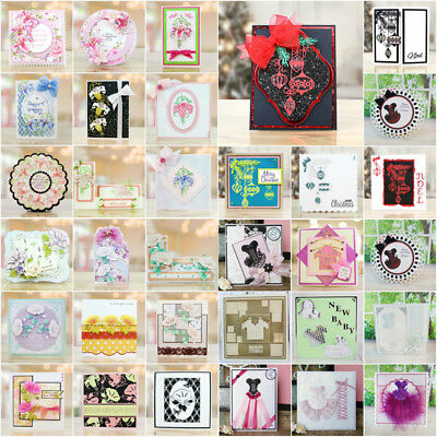 Metal Cutting Dies Stencil Scrapbooking Album Paper Card Embossing DIY Craft