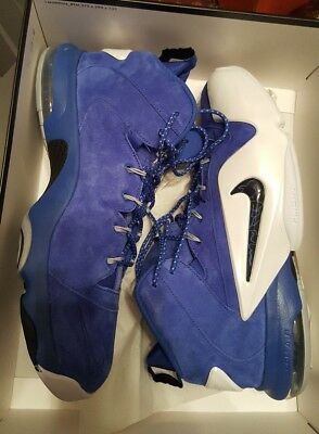 c522dde5b618 USED WORN SIZE 13 Nike Zoom Rookie Penny Basketball Shoes Game Royal ...