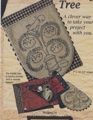 PATTERN - The Stitching Tree - stitchery sewing accessory PATTERN- Kathy Schmitz