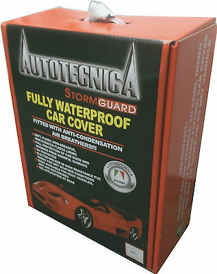 Autotecnica Stormguard Full Waterproof Sedan Car Cover Large Up To 4.91M 1/186