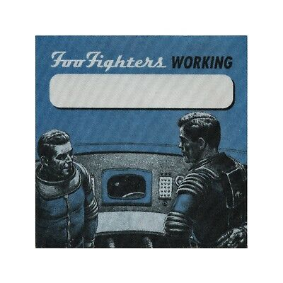 Foo Fighters authentic Working 1997 tour Backstage Pass