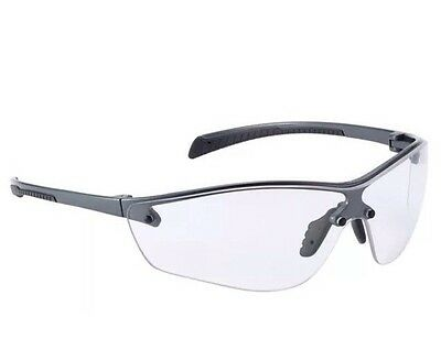 Bolle Silium + PLUS safety Cycle Sports Clear Glasses