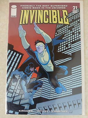 "Invincible Issue 21 ""First Print"" 2005 - Kirkman, Ottley"