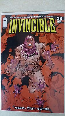 "Invincible Issue 38 ""First Print"" 2006 - Kirkman, Ottley"