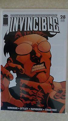 "Invincible Issue 28 ""First Print"" 2006 - Kirkman, Ottley"