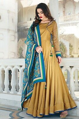 Bridal Indian Pakistani  Bollywood Party Wear Straight  Wedding  Suit J. Us 101