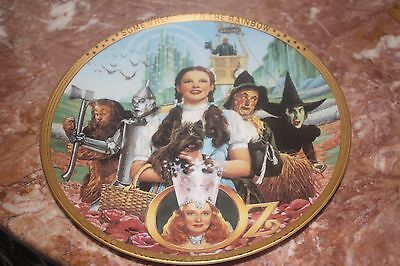 50th Anniversary The Wizard Of Oz Hamilton Collector Plate Fifty Years of Oz
