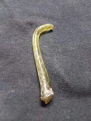 Roman glass Ancient fragment with patina ISRAEL