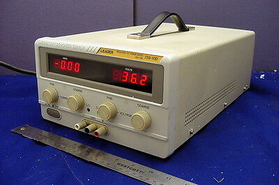 Awesome Leader 35Vdc - 10A Regulated Power Supply - Tested And Operational