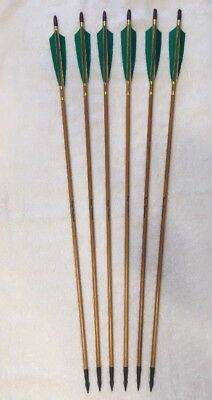 Traditional Wood Arrows for Recurve and Longbow