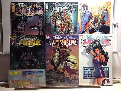PRIMO:  TALES of the WITCHBLADE 1/2, 2 3 4 5 6 Top Cow Image comics lot b2