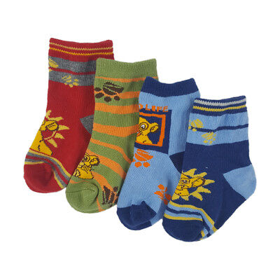 Lion King Disney Baby Socks 0-6/6-12 Months 4 Colours Buy More And Save