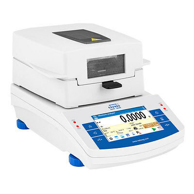 NEW ! RADWAG MA 50/1.X2 Moisture Analyzer / Balance, 50g x 0.1mg, 2 Yr Warranty