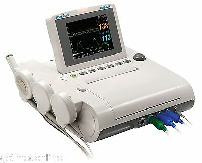 NEW ! Wallach Fetal 2 EMR  Fetal Heart Rate Monitor for Twins, 902300