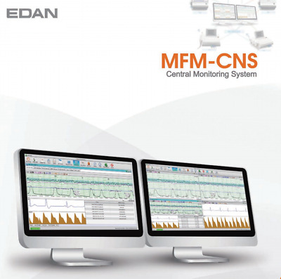 NEW ! EDAN MFM-CNS Central Fetal / Maternal Monitoring System Software