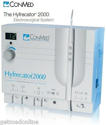 NEW ! Conmed Hyfrecator 2000 Dessicator / Electrosurgical Generator, 7-900-115