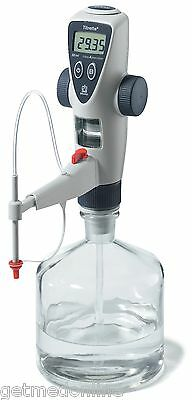 NEW ! BrandTECH Titrette Electronic Bottletop Titrator with RS232, 10ml, 4760241