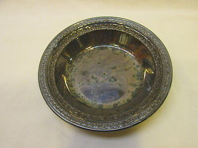 """Vintage Reed & Barton 6-1/4"""" Silver Plate Bowl  Silverplate"""