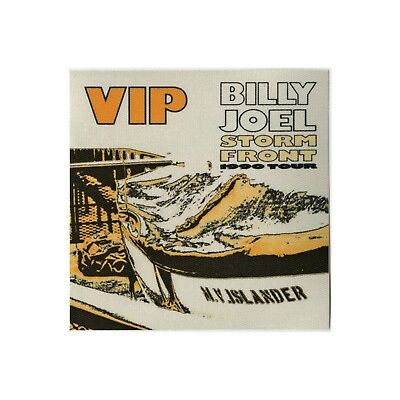 Billy Joel authentic VIP 1990 tour Backstage Pass