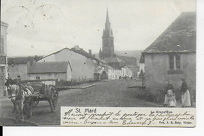 saint-mard virton la grand rue 1905