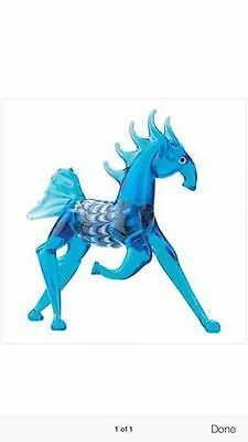 Blue Art Glass Horse Figurine ~ NEW ~ Colorful Collectible Gift 12671
