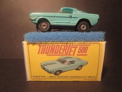 1373 Mustang Fastback 2+2  Box + Pad + Diag. For Aurora Ho Model Slot Car T-Jet