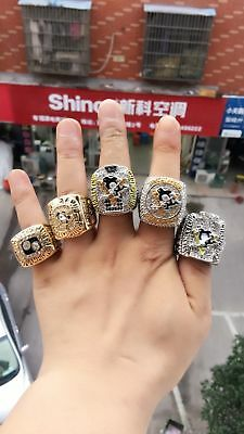 5 Set 1991 1992 2009 2016 2017 Pittsburgh Penguins Stanley Cup Championship ring