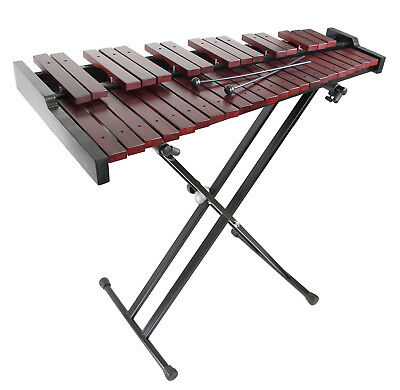 Gearlux 37-Key Wooden Xylophone w/ Mallets, Stand