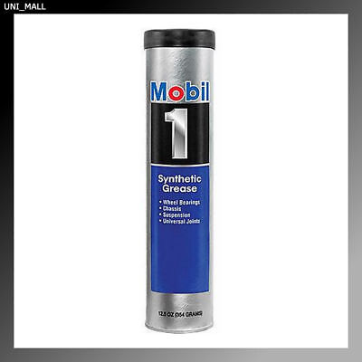MOBIL 1 Synthetic Grease Automotive, 13.4oz Tube, Made in USA