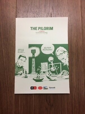 Plymouth Argyle V Liverpool FA CUP Programme 2017!!