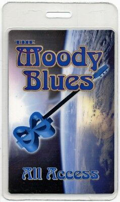 Moody Blues authentic 2003 concert tour Laminated Backstage Pass ALL ACCESS