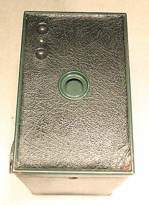 Kodak No. 2A Brownie Model C, Green, Uses 116 Film
