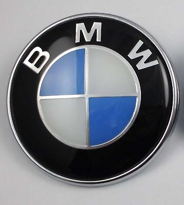 BMW Roundel Replacement EMBLEM for Hood or Trunk ORNAMENT P/N 51148132375