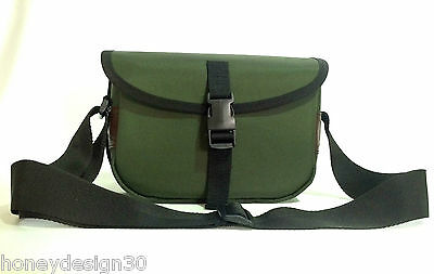 Cartridge bag. Holds about 150 cartridges. Made in the UK.