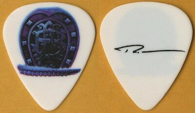 Nickelback Ryan Peake authentic 2009 Dark Horse Tour signature white Guitar Pick