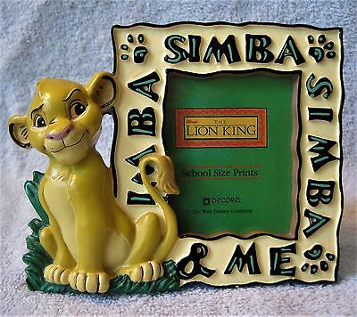 """Disney - Lion King - Simba - 2.75""""  X 2"""" Picture Size - Picture Frame - Rare!"""